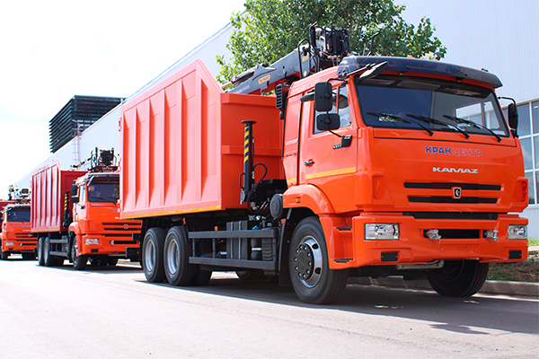 Автотехника на шасси КАМАЗ для ломозаготовительной компании