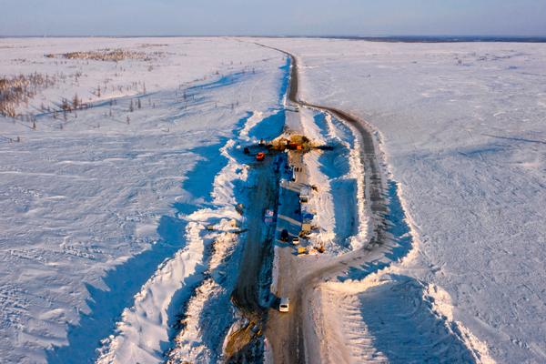 Техника CASE в суровых условиях Ямало-Ненецкого автономного округа