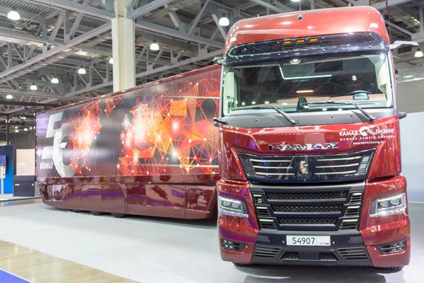 КАМАЗ-54907 Континент - новый грузовик К6 поколения