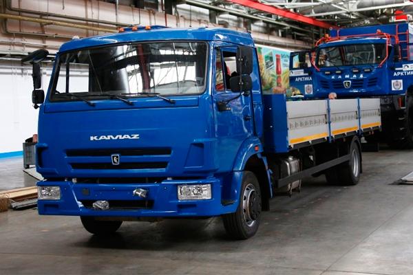 Беспилотный КАМАЗ 43083, для внутризаводских перевозок, успешно проходит тестирование