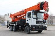 Новый автокран КрАЗ КС-65719 в 40 тонн - самый мощный в линейке