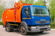 Новый мусоровоз с боковой загрузкой КрАЗ-5401