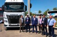 КАМАЗ презентовал флагмана линейки К5 в Самарской области
