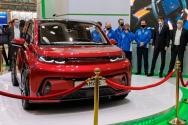 В Москве презентован электромобиль КАМАЗ «КАМА-1»