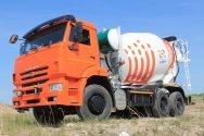 Стартовали продажи автобетоносмесителей КАМАЗ с приводом от шасси