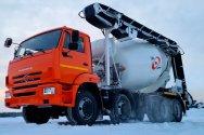 Автобетоносмесители КАМАЗ с транспортерной лентой от ТЗА