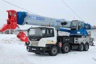 Новый, 70-тонный, автокран КС-75721-2 «Галичанин»