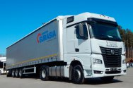 Прицеп ТЗА EURASIA Cargotech на Российском промышленном форуме