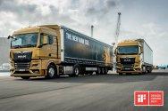 Новое поколение грузовиков MAN удостоено двух наград iF DESIGN
