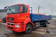 КАМАЗ-53251 – первый представитель среднетоннажного семейства поколения К5