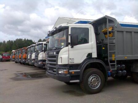 Самосвалы Scania с поставкой за 3 дня!