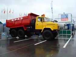 КрАЗ-65055 - лучший специальный автомобиль «Интеравто-2008»