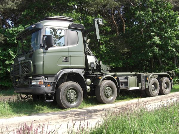 Финская оборонка скупает полоноприводные Скании