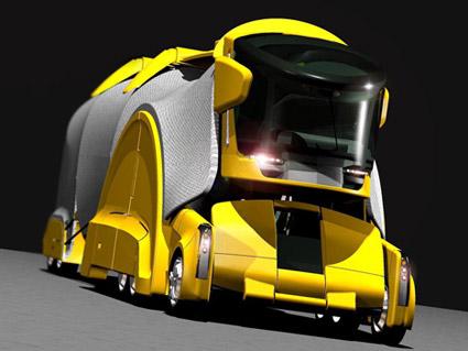 Chameleon Truck: Биологический грузовик