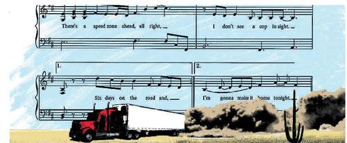 Музыка водителей грузовиков - правда или вымысел?