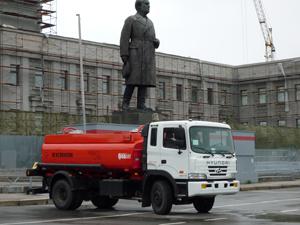 Бензовоз ГрАЗ-HYUNDAI на выставке «КомАвтоТранс-2008» в Самаре