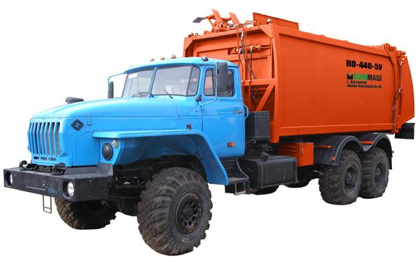 Новый мусоровоз КО-440-5У АВТОМАШ ХОЛДИНГа