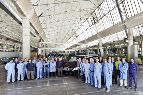 Миллионный Mercedes-Benz Vito сошел с конвейера