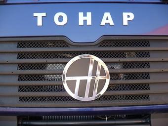 Полуприцеп-углевоз «ТОНАР-974618» для монгольских горняков