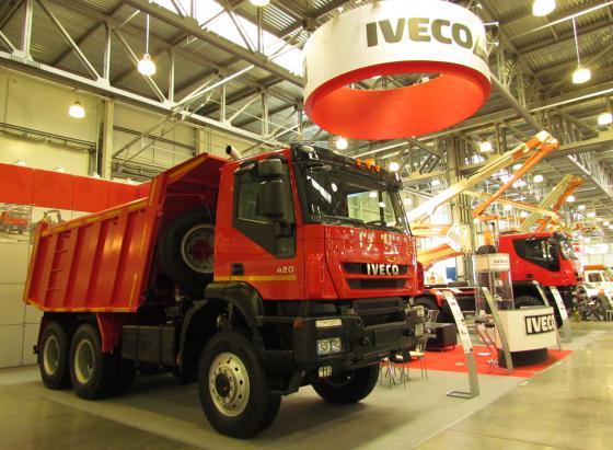 IVECO-AMT - на выставке СТТ-2011