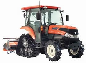 Kubota модернизировала тракторы Zero Kingwel