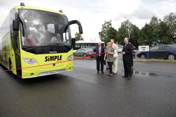 Новые автобусы Scania на международных рейсах из Санкт-Петербурга