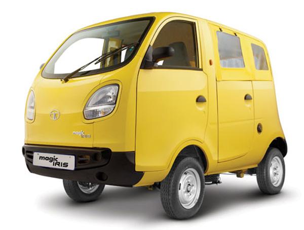 Маленькие коммерческие автомобильчики ТАТА