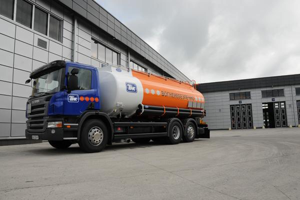 TНK-BP в Украине приобрела 17 бензовозов Scania