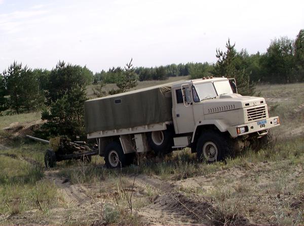 Вездеход КрАЗ-5233 Спецназ принят на вооружение ВС Украины!