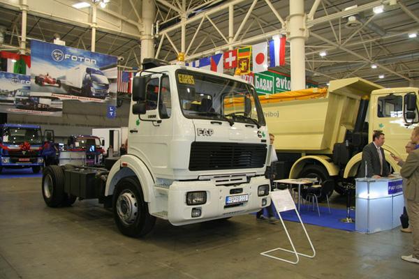 Сербские грузовики FAP на выставке TIR'2011