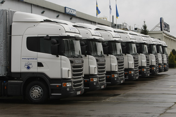 «Агромат» продолжает десятилетнее сотрудничество со Scania