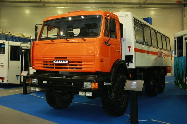 КАМАЗ учавствует в «КазАвтоДор-2011»
