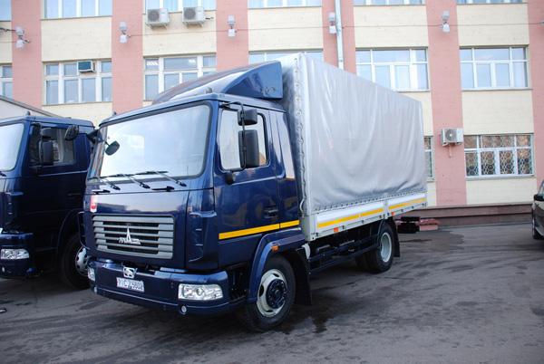 Новый городской грузовик МАЗ