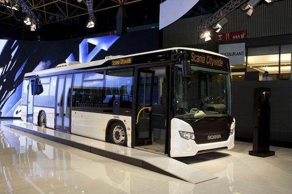 Scania на выставке Busworld 2011, г.Кортрейк