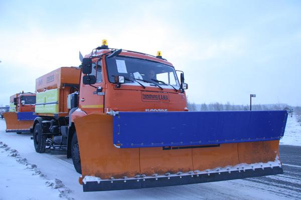 «КАМАЗ» и «Бошунг» - казанским коммунальщикам