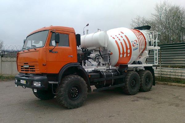 ТЗА представил новый бедтоносмеситель на базе КАМАЗ