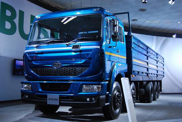 Первый 5-осный грузовик TATA Motors