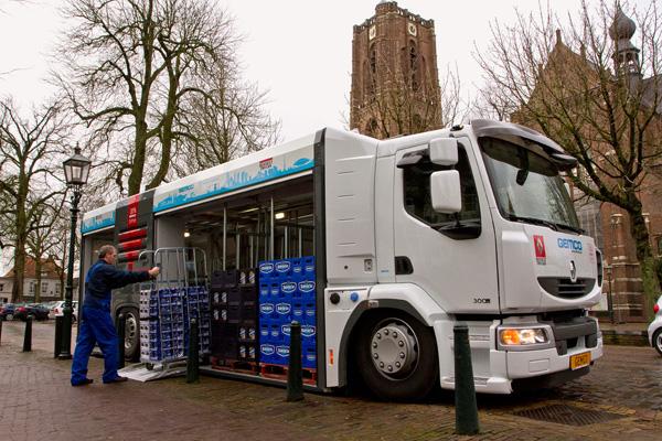 Новый грузовой Renault для городских перевозок