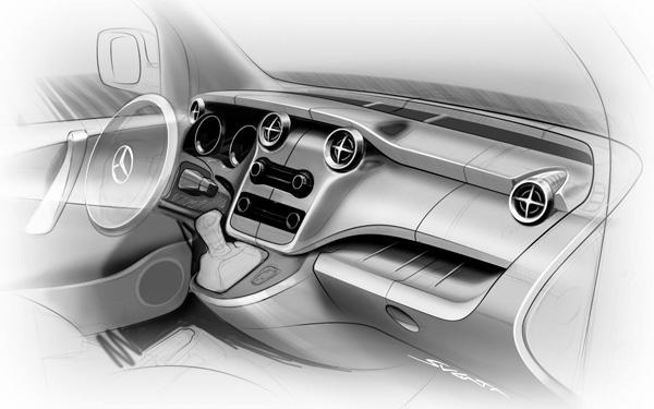 Новый развозной фургон Mercedes-Benz Citan