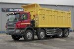 Поставка карьерного самосвала Scania