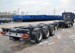 Тонар-974629 - раздвижной полуприцеп-контейнеровоз