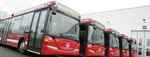 Этаноловые автобусы Scania получили мировое признание