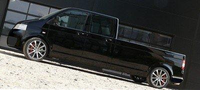 Немцы превратили VW Transporter в заднемоторный пикап
