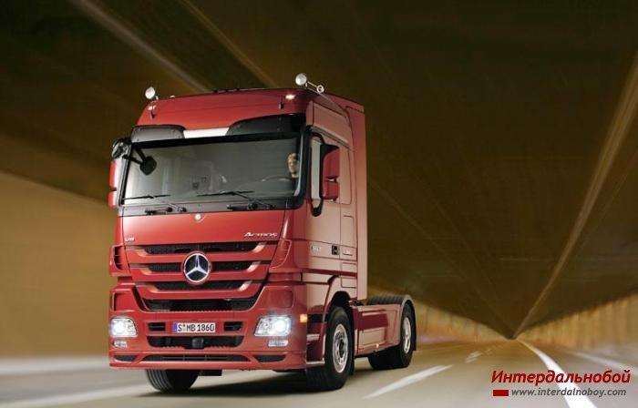 3 поколение Mercedes-Benz Actros!