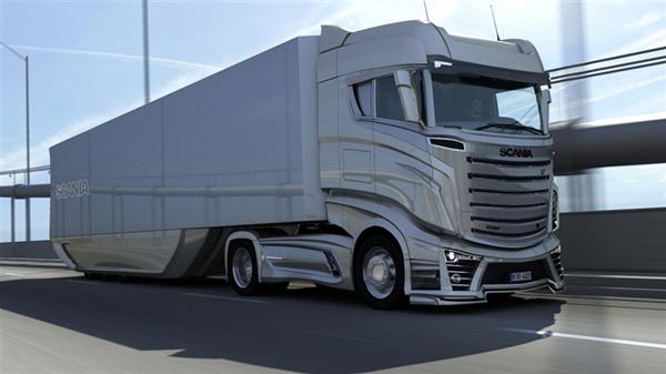 Scania R1000 - гостья из будущего