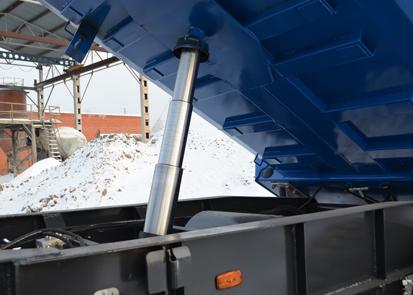 Новый самосвальный тракторный прицеп ТПС-9 от Тонар
