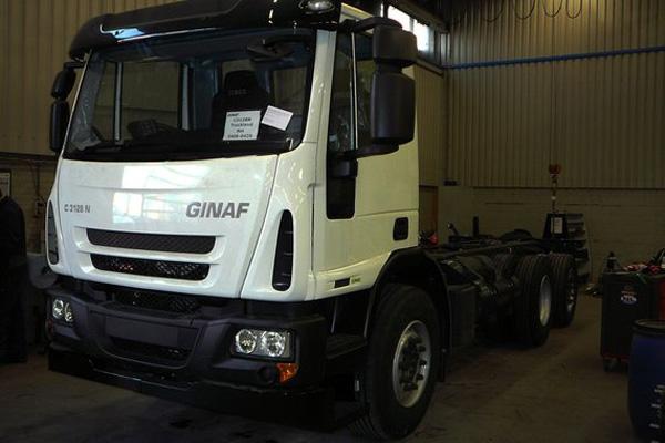Первый грузовик Ginaf на СПГ