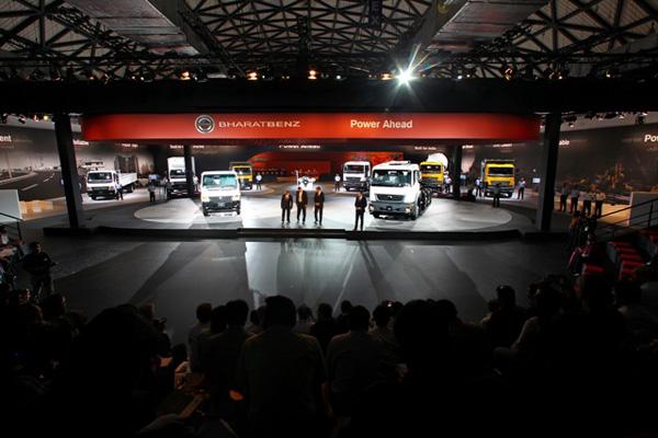 BharatBenz официально представил свой модельный ряд