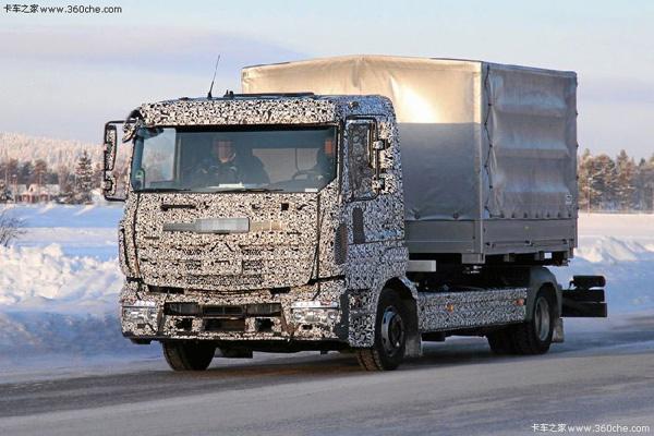 Mercedes испытывает обновленные Atego и Econic