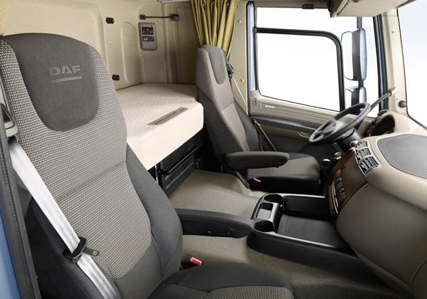 DAF готов показать свой сверх-экономичный модельный ряд ATe на Транспортной выставке 2012